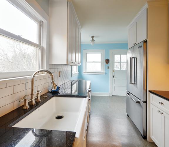 kitchen - wide view