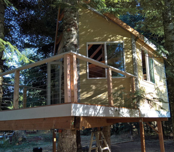 tree house exterior