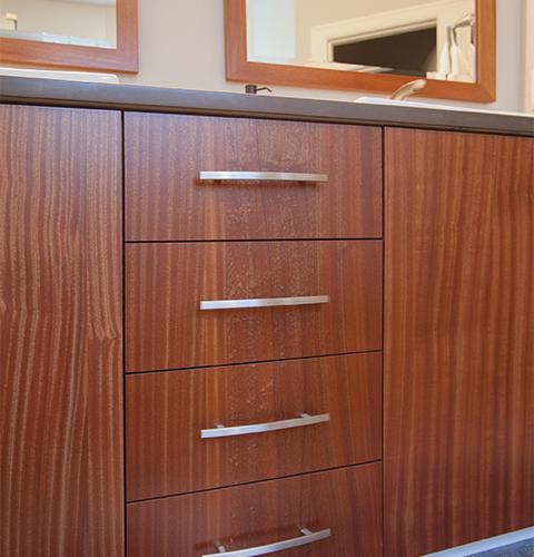 cabinets closeup at an angle