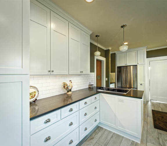 kitchen cabinetry and countertops