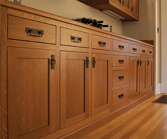 Cabinetry closeup