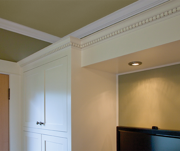 kitchen dental molding