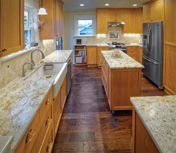 kitchen from birds eye angle